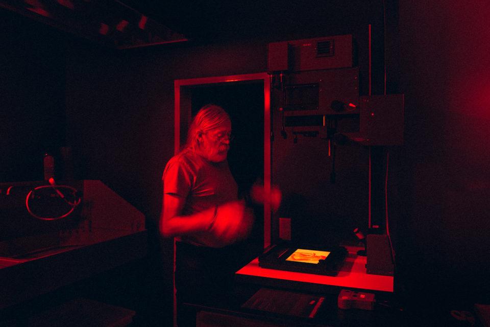 Analoges Labor, Foto Hannes Jung